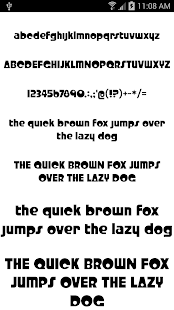 Fonts for FlipFont 50 #6- screenshot thumbnail