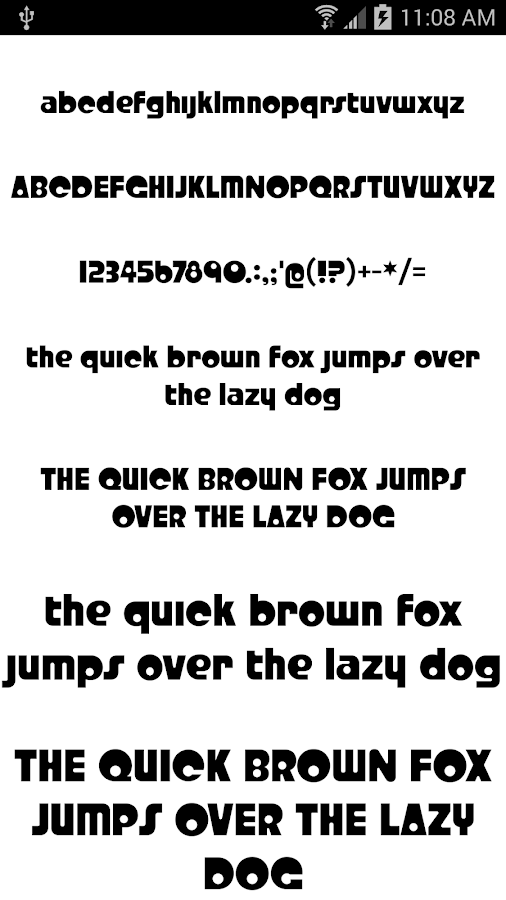 Fonts for FlipFont 50 #6- screenshot