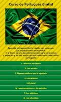 Screenshot of Curso de Portugues gratis!