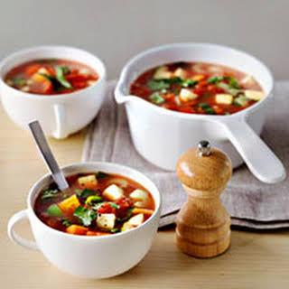 0 ProPoints vegie soup.