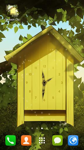 Cartoon Clock Live Wallpaper