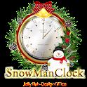 クリスマス時計ウィジェット☆SnowMan