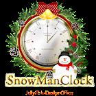 クリスマス時計ウィジェットSnowMan icon