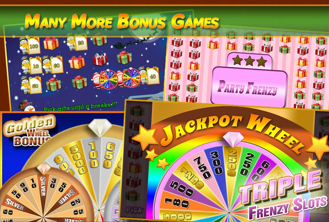 FreeSlots - Triple Wheel Bonus- screenshot