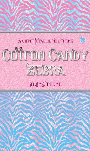 Candy Metallic Zebra Theme SMS