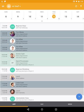 android MINDBODY Express Screenshot 3