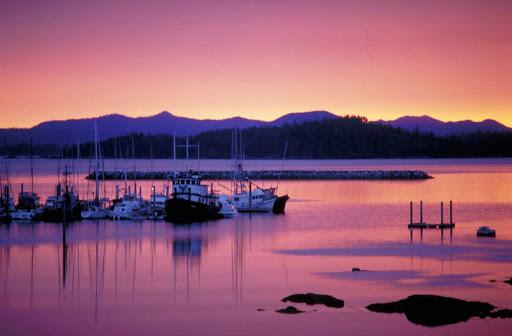 sunset-Sitka-Alaska-2 - Sunset near Sitka, Alaska