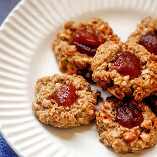Life-Changing Vegan Thumbprint Cookies.