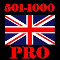Учи английский Pro! (501-1000) icon