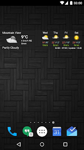 AmberHome Weather- screenshot thumbnail