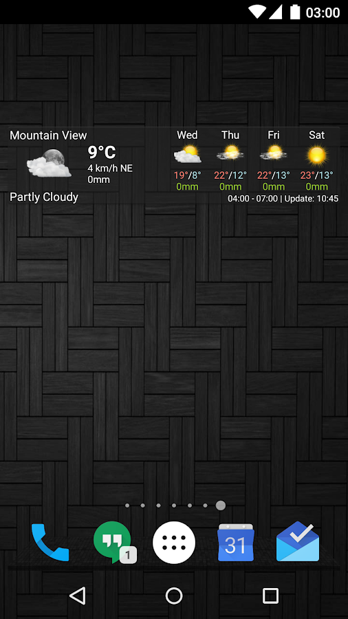 AmberHome Weather - screenshot