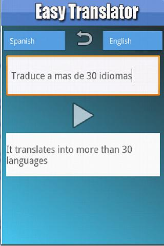Easy Translator - screenshot