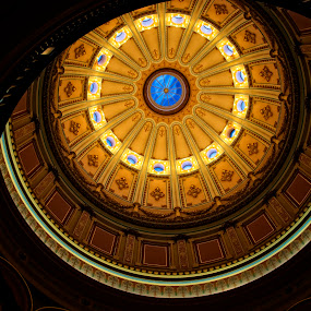 Inside California State Capital by Dwayne Pippin - Buildings & Architecture Public & Historical