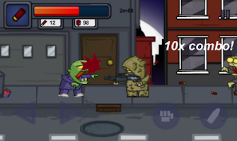 Screenshot of Zombie Way