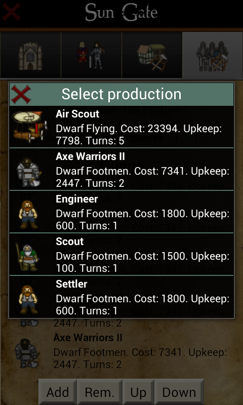 Rising Empires Premium screenshot #4