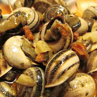 Snails and Chorizo.