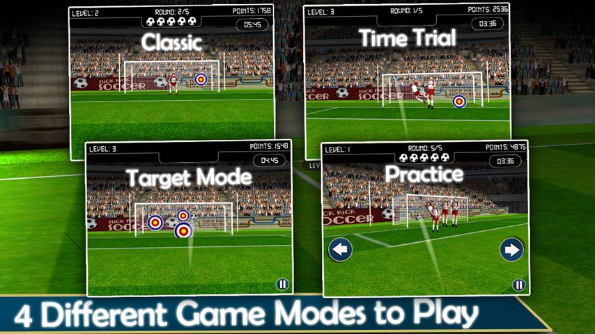 A Real Football Soccer Games - screenshot