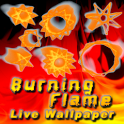Burning Flame Live Wallpaper icon