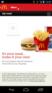 McDonald's UK - screenshot thumbnail