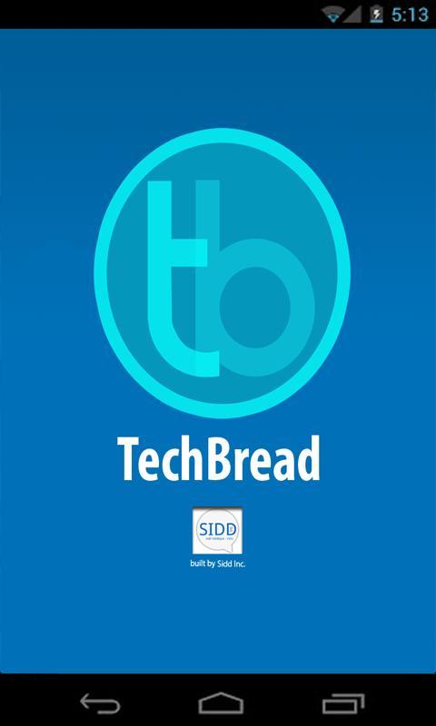 TechBread - screenshot