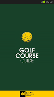 2013 AA Golf Guide - screenshot thumbnail