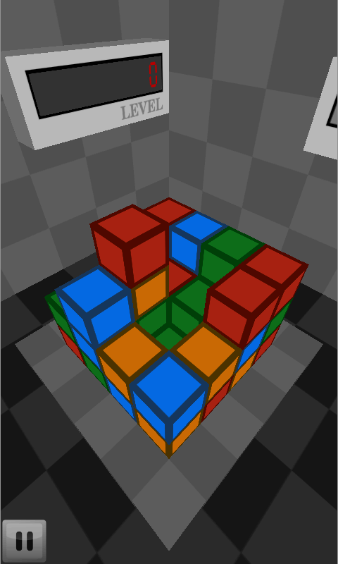 Cubes Attack - screenshot