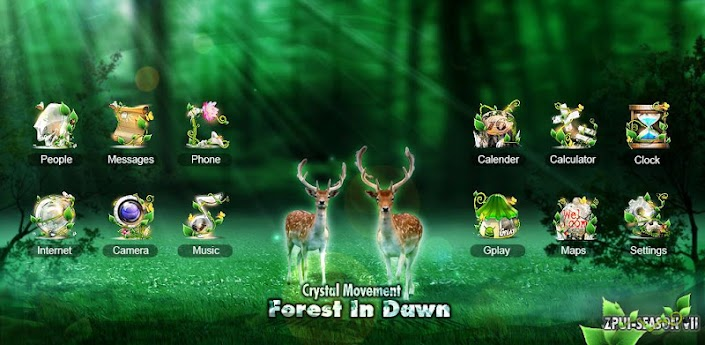 Forest GO LuancherEX Theme apk