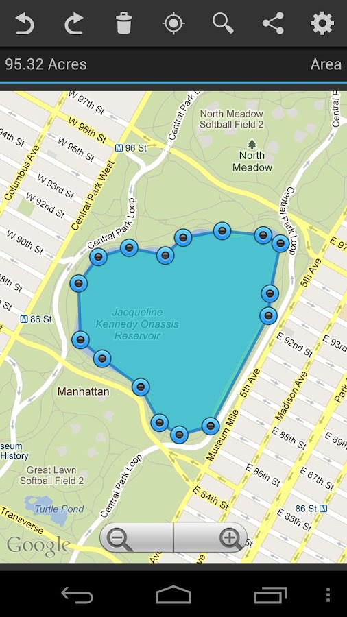 Geo Measure GPS Area Distance- screenshot