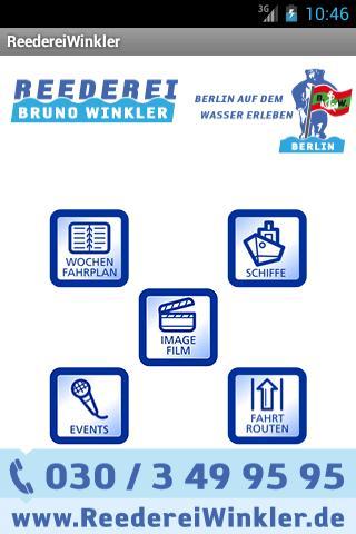Reederei Winkler - screenshot