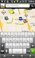 Screenshot of Fast Food Restaurants Locator