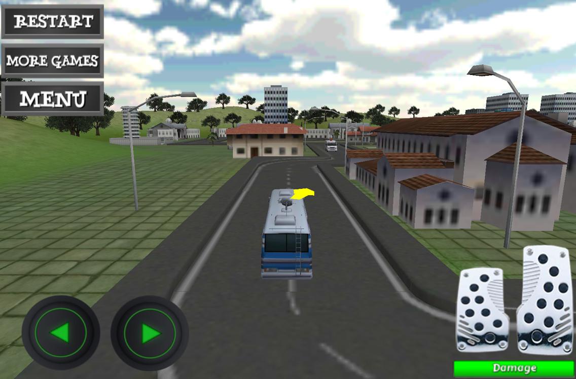 city bus parking games