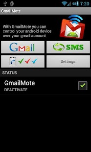 GmailMote - screenshot thumbnail