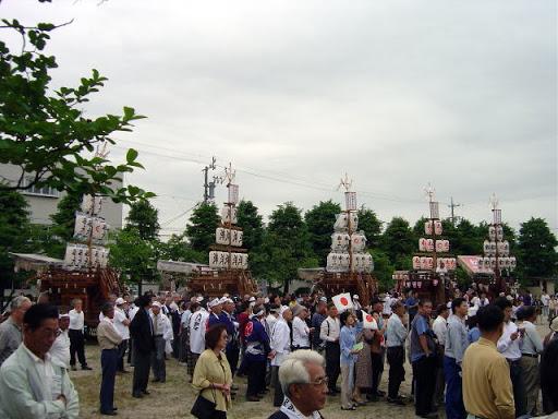 松原の石取祭