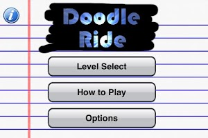 Screenshot of Doodle Ride