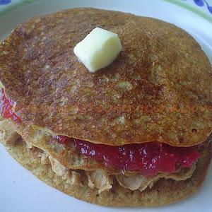 Whole Wheat Buttermilk Hotcakes