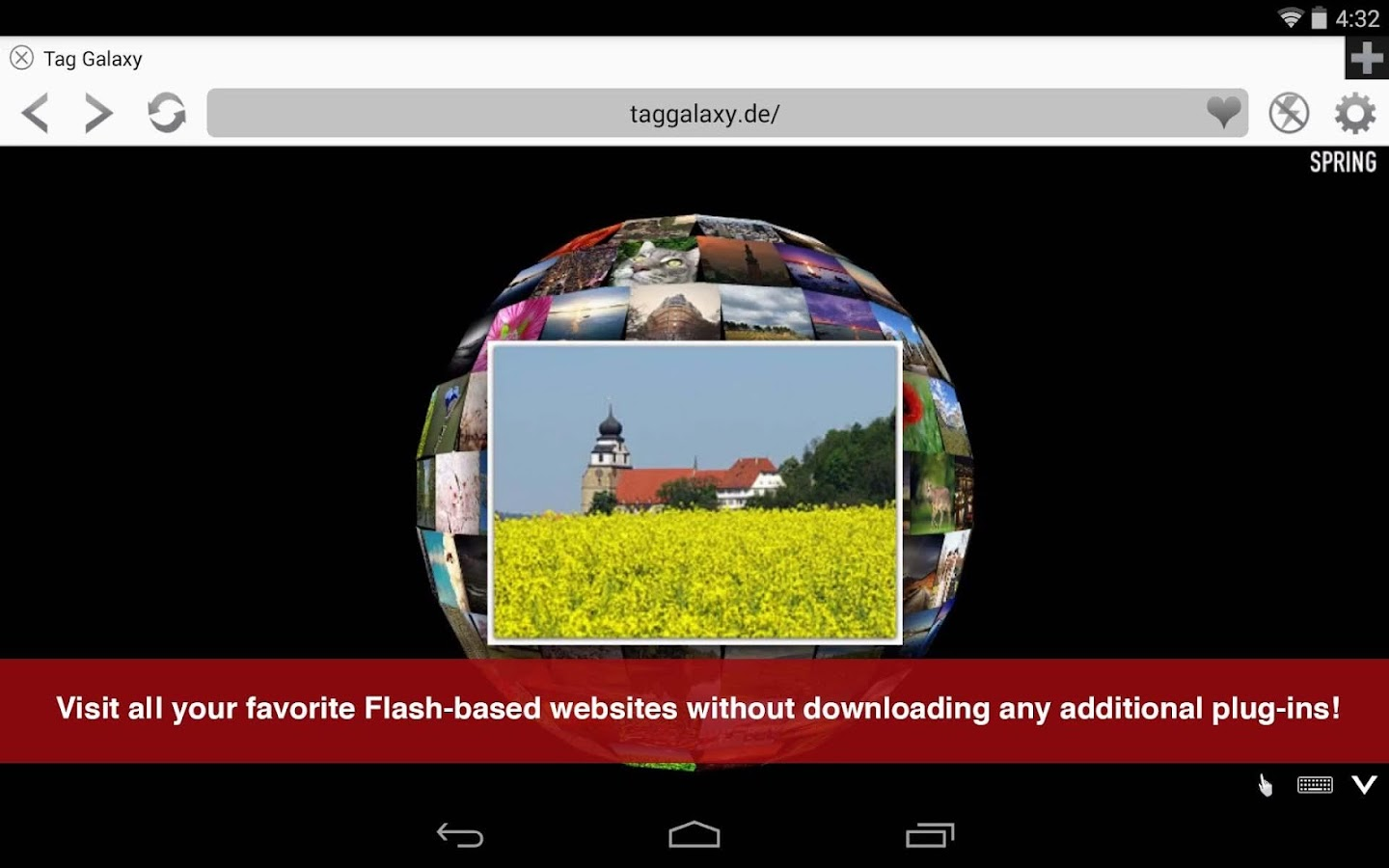Photon Flash Player & Browser - screenshot