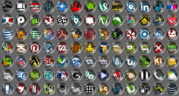 Smoke Glass Icon Pack