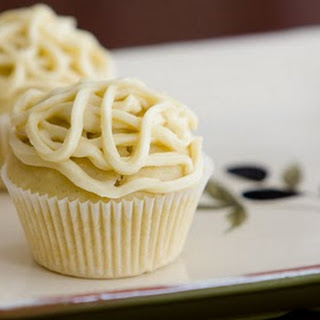 Basil Infused Olive Oil Cupcakes with White Wine Recipe
