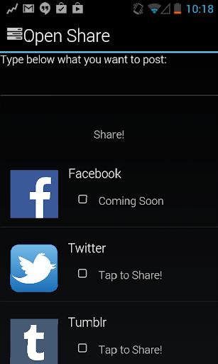 Open Share