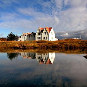 Straumur  by Anna Guðmundsdóttir - Buildings & Architecture Homes ( iceland, straumsvík, straumur,  )