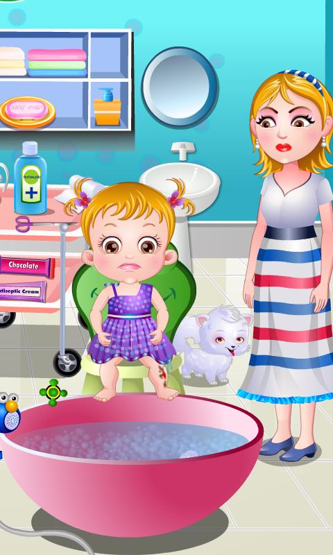 Baby Hazel Leg Injury Screenshot