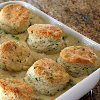 Turkey and Biscuit Bake