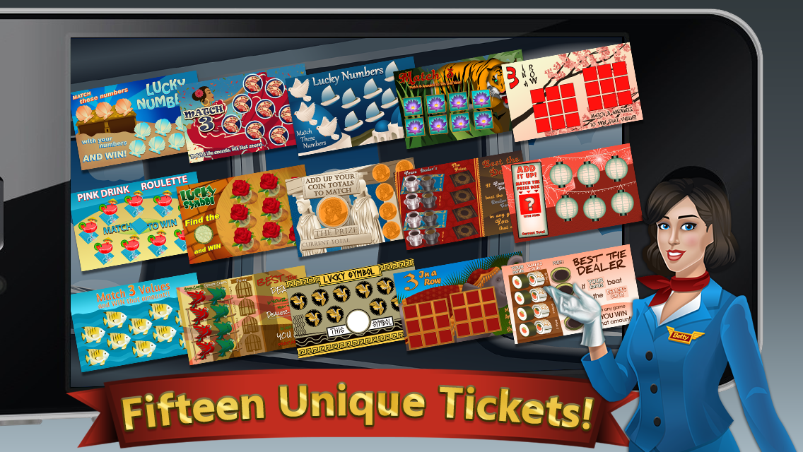 Scratch-Off Ticket Lottery- screenshot