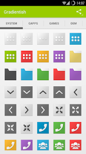 Gradientish (Icon Pack) v1.1.6