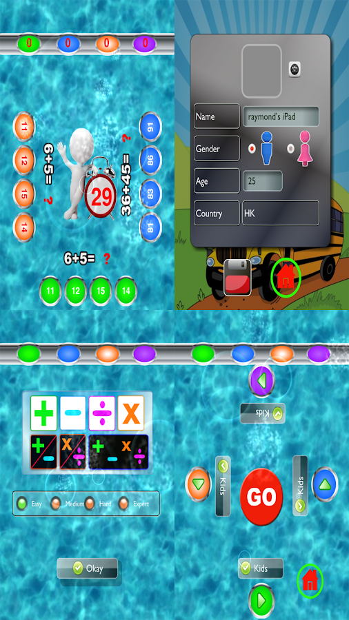 Kids Numbers and Maths Free - screenshot