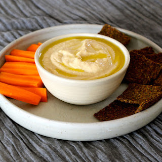 A Middle Eastern Inspired Hummus.