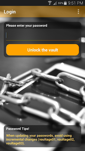 Vaultage Password Manager