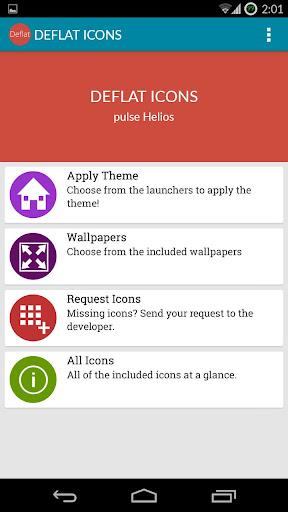 【免費個人化App】Deflat Icon Pack - Free-APP點子