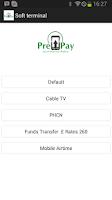 Screenshot of Prepay Soft Terminal