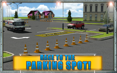 Road Truck Parking Madness 3D- screenshot thumbnail
